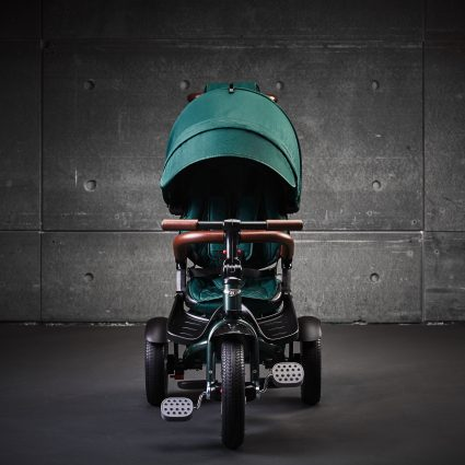 Трехколесный велосипед Bentley BN2G изумрудный цвет (трансформер)